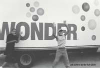 Pete Doherty, Wonbder Truck, 2003, featured in Flava