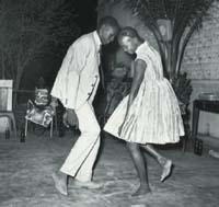 Malik Sidible, Nuit de Noel, 1963, featured in Flava