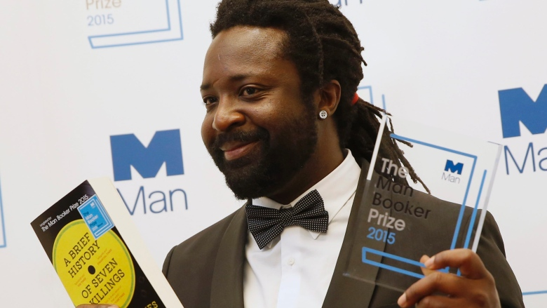 Marlon James captures the 2015 Booker Prize