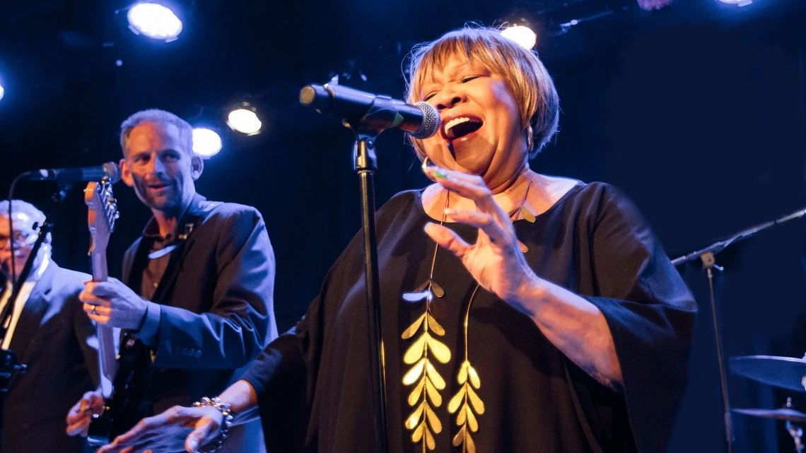 Legendary soul and gospel singer Mavis Staples. Photo courtesy of Miikka Skaffari/Film First Co
