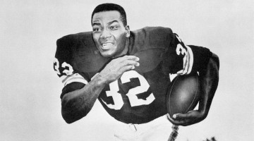 Jim Brown is the greatest running back ever to play in the NFL