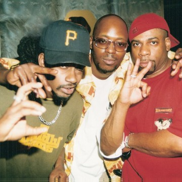 Saukrates, Choclair & the late Jam Master Jay