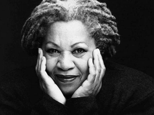 Toni Morrison, an icon of American literature.